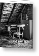 Singer In The Attic Greeting Card