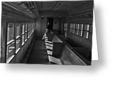 Singin' In The Train Greeting Card