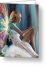 Single Fairy Greeting Card