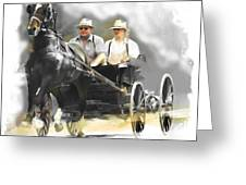 Single Horse Power Greeting Card