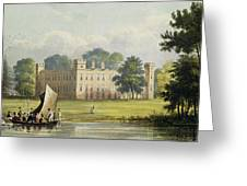 Sion House, From R. Ackermanns Greeting Card
