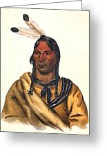 Sioux Chief 1883 Greeting Card