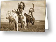 Sioux Chiefs  Greeting Card