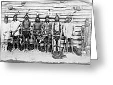 Sioux War Party Greeting Card