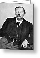 Sir Arthur Conan Doyle (1859-1930) Greeting Card