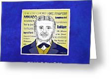 Sir Arthur Sullivan Greeting Card
