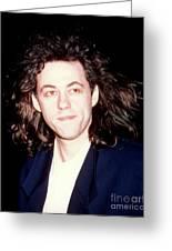 Sir Bob Geldorf 1989 Greeting Card