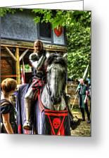 Sir Lancelot Du Lac Greeting Card