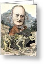 Sir Richard Owen (1804-1892) Greeting Card