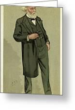Sir Samuel Wilks  British Physician Greeting Card