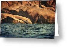 Siren Rocks II Greeting Card