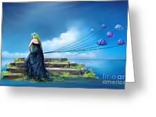 Sirens Lure Greeting Card