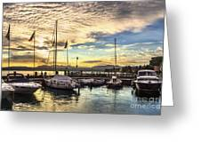 Sirmione Sunset Greeting Card
