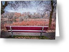 Sit With Me Greeting Card