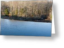 Situate Dam Greeting Card