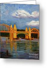 Siuslaw River Bridge Greeting Card