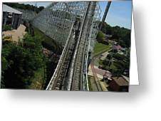 Six Flags America - Wild One Roller Coaster - 12129 Greeting Card