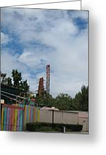 Six Flags Magic Mountain - 12122 Greeting Card