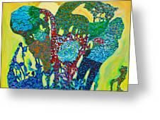 Sixth Creation Greeting Card