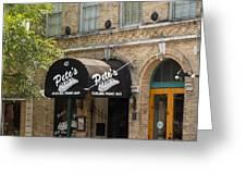 Austin Sixth Street Dueling Piano Bar Greeting Card