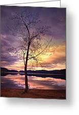 Skaha Lake On A Saturday Morning Greeting Card