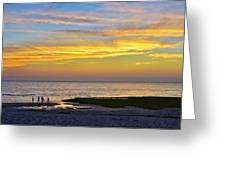 Skaket Beach Sunset 5 Greeting Card