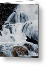 Skalkaho Waterfall Greeting Card