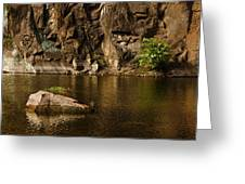 Skc 2964 The Rustic Rocks And Ripply Waters Greeting Card