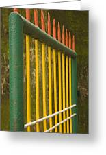 Skc 3266 Colorful Gate Greeting Card