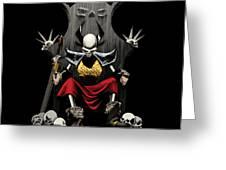 Skeletal Noble Greeting Card