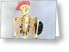 Skeleton. Greeting Card