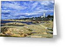 Skeppsmaln Lighthouse Greeting Card