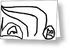 Sketch 8 Greeting Card