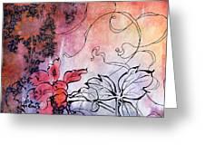 Sketchflowers - Calendula Greeting Card