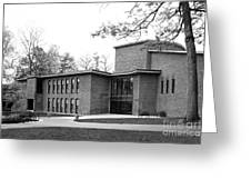 Skidmore College Filene Hall Greeting Card by University Icons