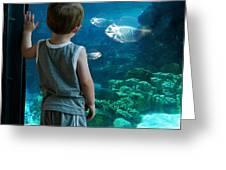 Skinny Fish Greeting Card