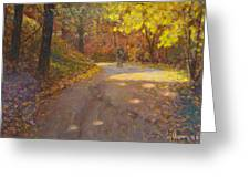 Skippers Autumn Greeting Card by Terry Perham