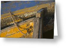 Skn 1394 Dilapidated Boats Greeting Card