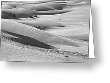 Skn 1432 Slopes And Curves Greeting Card