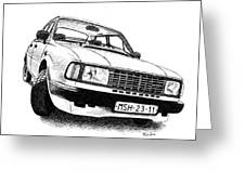 Skoda 120l Greeting Card
