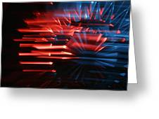 Skc 0272 Crystal Glass In Motion Greeting Card