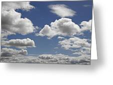 Skc 0328 The June Clouds Greeting Card