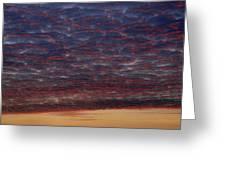 Skc 0338 Sky Desert Greeting Card
