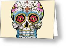 Skull 10 Greeting Card