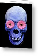 Skull Art - Day Of The Dead 1 Greeting Card