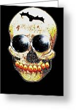 Skull Art In A Surrealism Definition Greeting Card