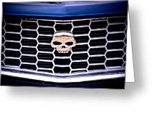 Skull Grill Greeting Card by Phil 'motography' Clark