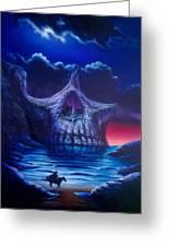 Skull Point Greeting Card