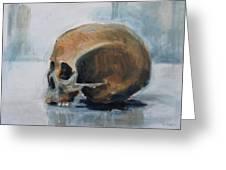 Skull Torso Greeting Card