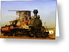 Skunk Train Greeting Card